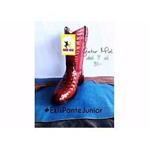 Bota Vaquera Junior Cowboy Gator