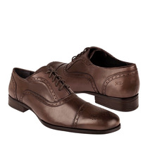 Gran Emyco Zapatos Caballero Vestir Eg-2652 Piel Tostado