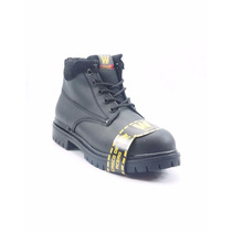 Warriors Bota De Trabajo Negro - 0506wa7225242