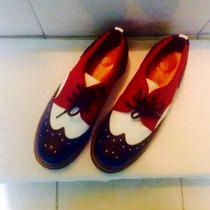 Zapatos John Fluevog Nuevos Num 7 Méx Nuevos No Martens