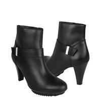 Flexi Zapatos Dama Botas 12214 Piel Negro