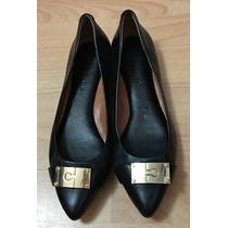 Zapatos Flats Banana Republic Piel Finisima Cafe Originales!