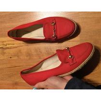 Hermosos Zapatos Flats Grasshoppers Rojos 100% Originales!!