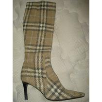 Botas De Dama Seminuevas Burberry 6.5mex En Oferta¡¡¡