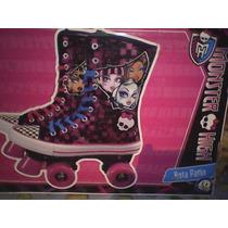 Monster High -patines Originales- Para Niña (usados)
