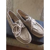 Op Zapatos Nauticos Marca Ocean Pacific - Talla 10 Usa