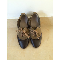 Zapatos Bostonianos Mujer