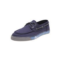 Nautica - Zapato Spinnaker Tipo Top Sider - Azul - Nm273f