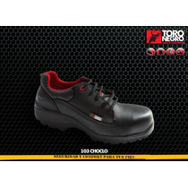 Zapato De Seguridad Toro Negro Mayoreo Safety Tools