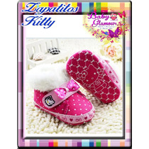 Zapatitos Kitty De Peluche