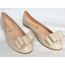 Zapato Dama Flats De Piso Tallas Del 23 Al 26 Confortables