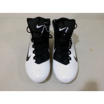Nike Tachones Tacos Alpha Speed Blanco Con Negro 15