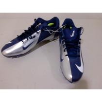 Nike Tachones Tacos Hyperfuze Plata Con Azul 16