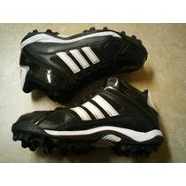 Spike Tachones Adidas Football Americano Talla 4.5 Mex