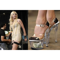 Zapatillas Transparentes Tips Bailarina Exotica Tipjar-708-5