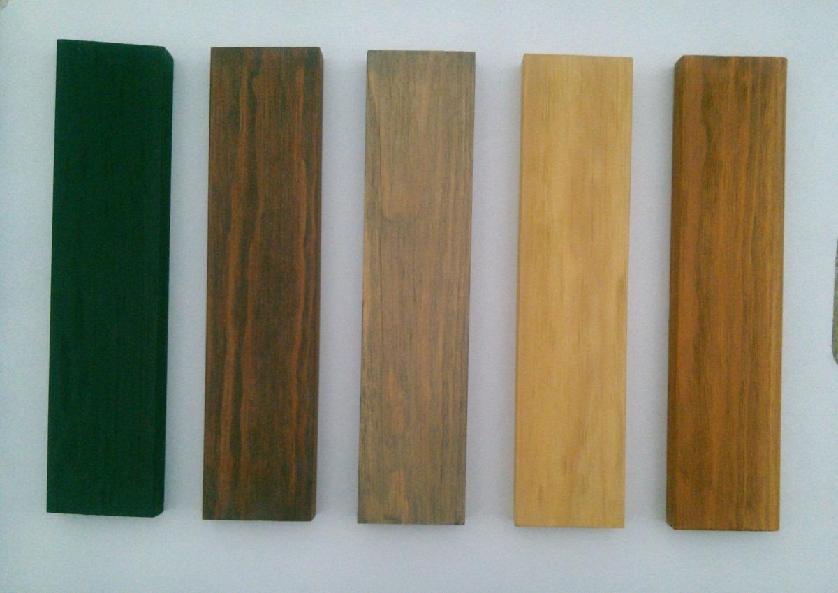 Zoclo de madera s lida para pisos en mercadolibre Tipos de pisos de madera