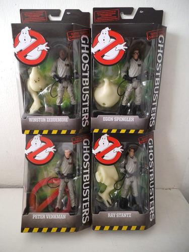 Lote Peter, Egon, Winston Y Ray Cazafantasmas Ghostbusters
