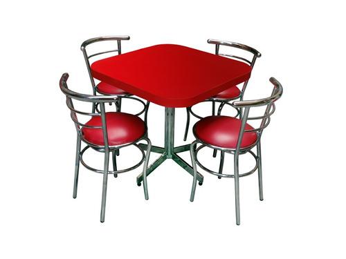 Mesa Juego Con 4 Sillas Para Restaurante Comedor Barato Ch75 en ...