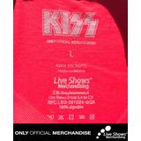 Playera Oficial KISS Tour 2016