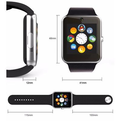 Smartwatch celular sim camara gt08 reloj inteligente for Especificaciones iwatch
