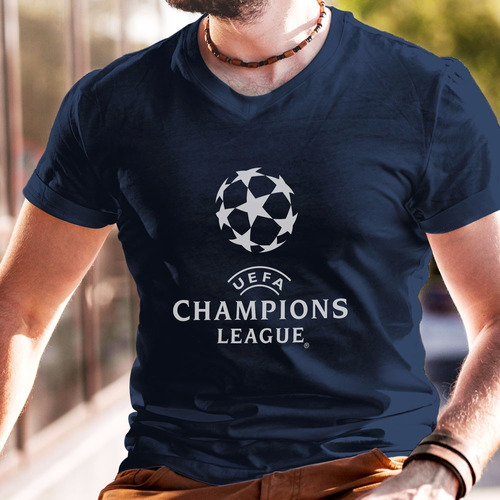 Playera Champions League Uefa Futbol