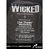 Playera Oficial WICKED TWO WITCHES TEE