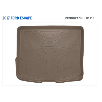 tapete maxtray cargo liner ford escape 2013 al 2017 beige 1 en mercado libre. Black Bedroom Furniture Sets. Home Design Ideas