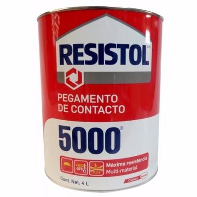 Pegamento contacto 5000 4 litros 1511710 resistol 656 - Pegamento para ceramica ...