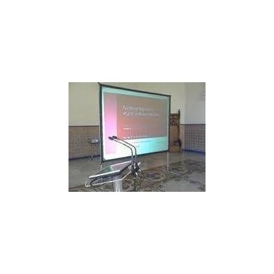 Pantalla de poyeccion 3 medidas ajustables 4x3 3x2 2x1 - Medidas de monitores para pc ...