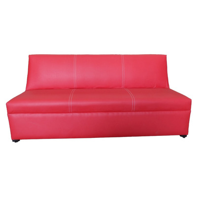 Sofa cama tymi pillamera rojo completo 6 en for Divan cama completo