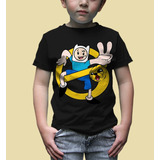 Playera Marca King Monster Para Niño Mod: Finne Y Jake