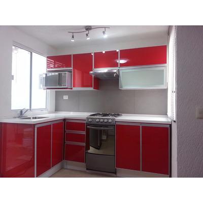 Puerta de aluminio para cocina x en - Puertas para cocinas integrales ...