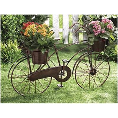 Jardin bici retro decoracion macetero exterior 1 en mercado libre - Bicicleta macetero ...