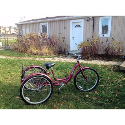 Bicicleta Triciclo Adultos, Trike, Rin 26, Schwinn Meridian