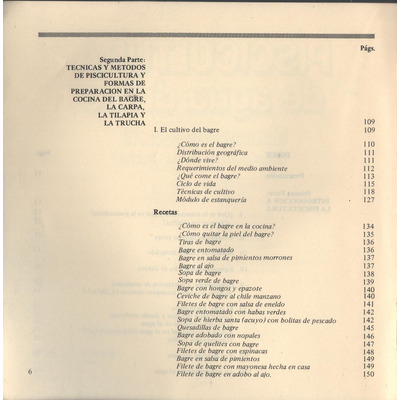 Piscicultura de agua dulce manual recetario libro mexicano for Manual tecnicas culinarias