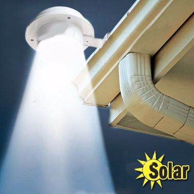Lampara Recargable Solar De Led Exterior Encendido