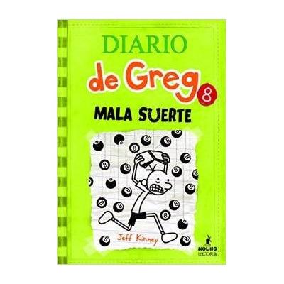 Diario de greg 8 mala suerte env o gratis pasta dura - Cuanto dura la mala suerte ...