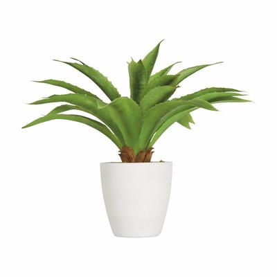 Planta decorativa artificial sabila biasi en for Planta venenosa decorativa