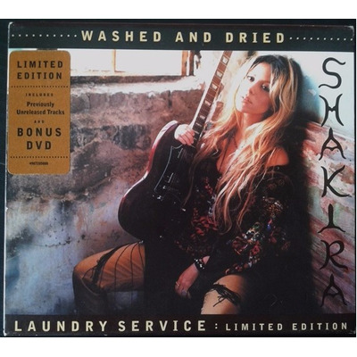 Shakira washed and dried laundry service cd dvd 449 for Oficinas asm madrid
