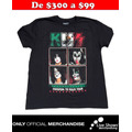 Playera Oficial KISS Photo