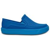 Zapato Crocs Niño Citilane Roka Azul Oceano