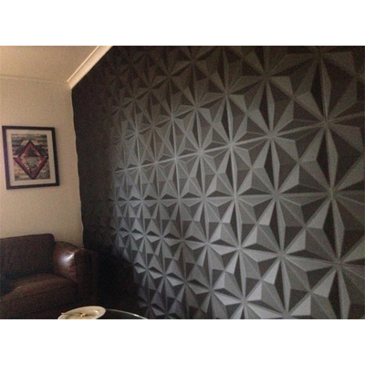 Paneles decorativos 3d pared pvc panel 4 en for Paneles de pvc para paredes precio