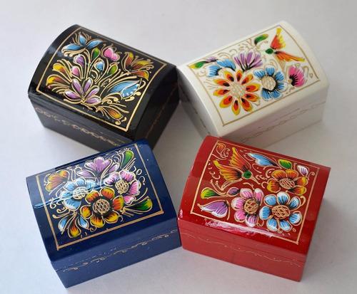 Mini baules pintados a mano artesania original recuerdo en venta en morelia michoac n por s lo - Baules pintados a mano ...