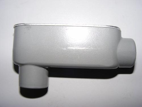 Condulet Ovalada Tipo Lb Serie 9 De 1/2