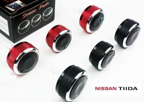 Perillas Control Aire Acondicionado Tuning Nissan Tiida