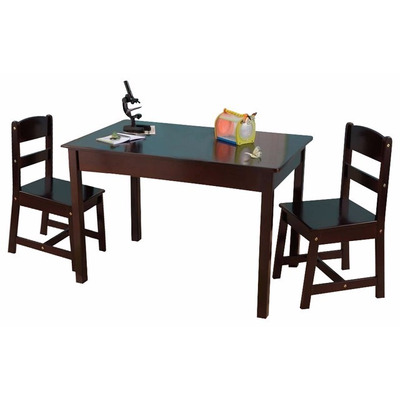 Kidkraft mesita mesa sillas jugar infantil tarea remate for Sillas para jugar ps4