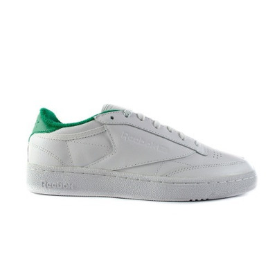 tenis reebok classic c85 blanco con verde v69645. Black Bedroom Furniture Sets. Home Design Ideas