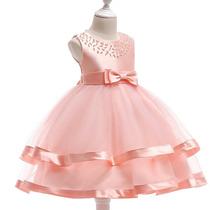 fa5dae72b Comprar Vestido De Fiesta Para Niña Elegante Vestido Boda Niña 3 A 9