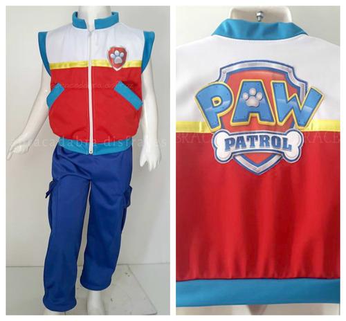 Disfraz Tipo Paw Patrol Ryder Patrulla De Cachorros Jefe 389
