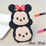 Funda Botarga Minnie & Mickey iPhone 8 Plus Triche